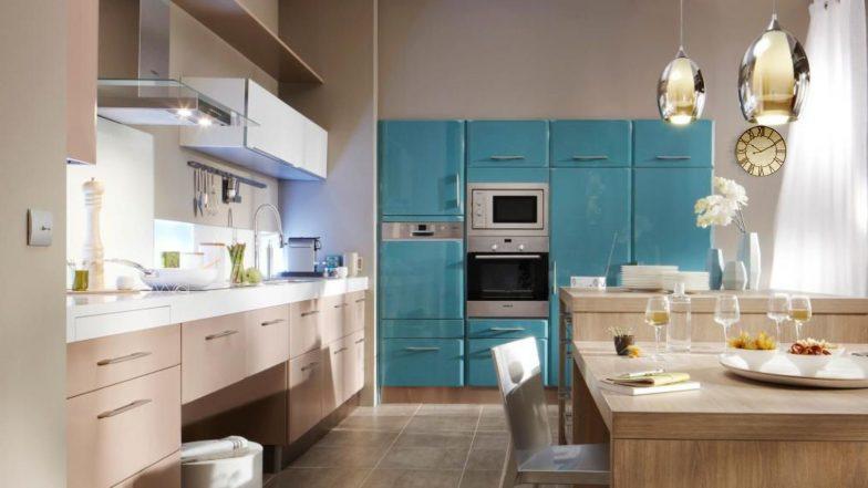 dekorasi dapur dengan model lampu dapur minimalis