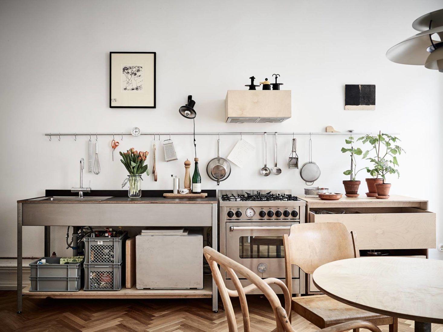 ide kreatif tempat pisau dapur minimalis