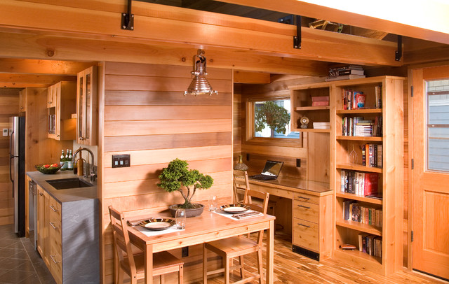 kabinet dapur kayu solid