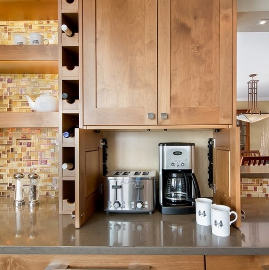kabinet dapur kayu tahan lama