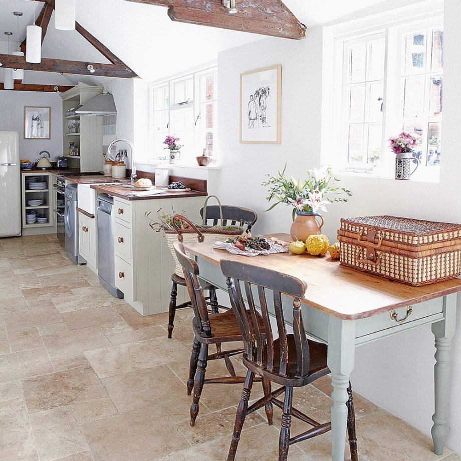 keramik dapur lantai bahan bebatuan alam