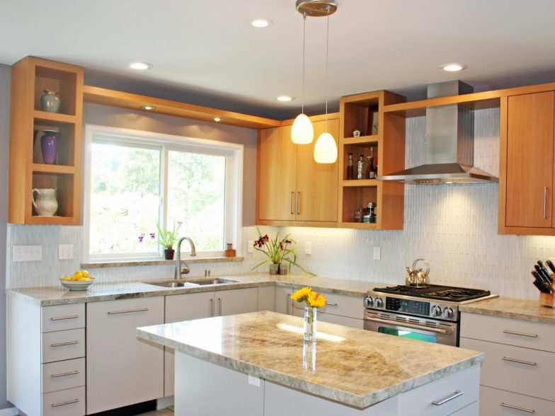 lampu gantung dapur minimalis warna hangat