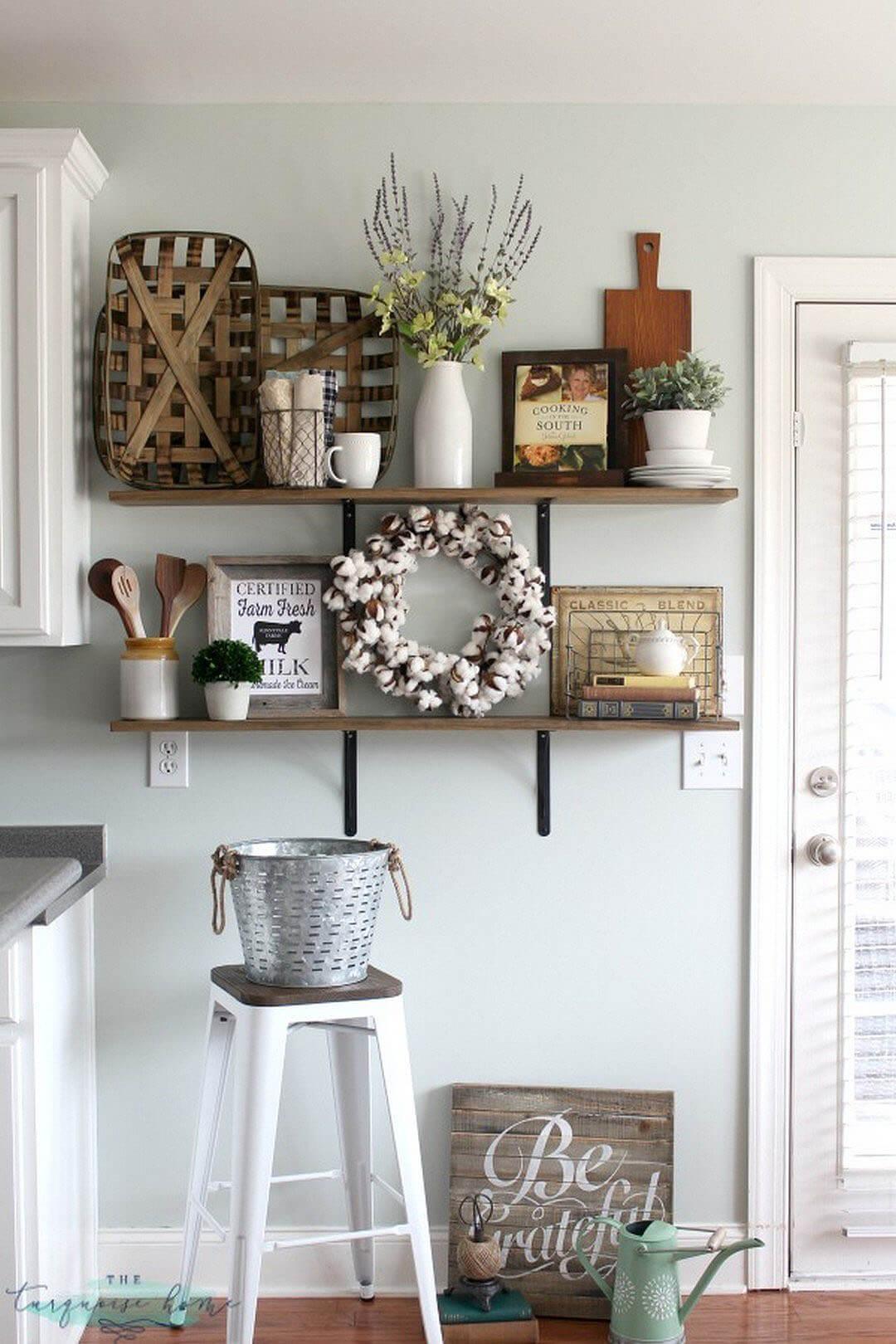 desain dinding dapur unik modern klasik