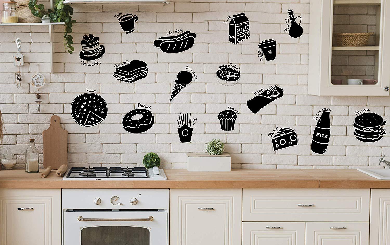 stiker dinding dapur dengan dekorasi industrial bta putih
