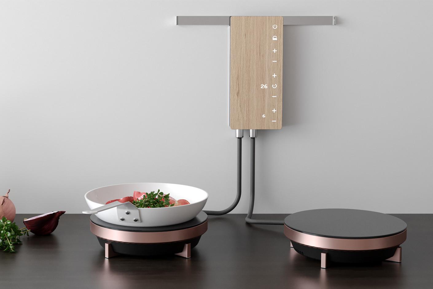 dapur minimalis dengan peralatan dapur kompor listrik mini